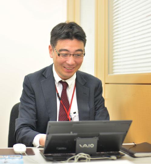 マネジメントスタッフ 西尾 雅夫さん