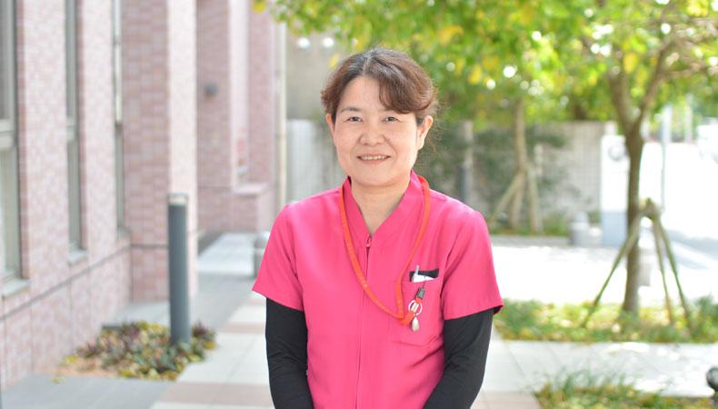 地域包括ケアセンター 副センター長兼看護科長 宮里寿美