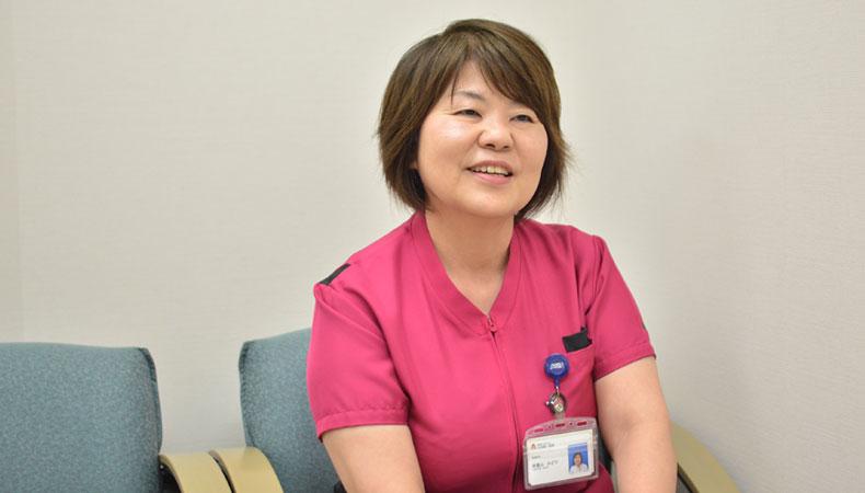 大浜第一病院 副院長 看護部長 津嘉山みどり