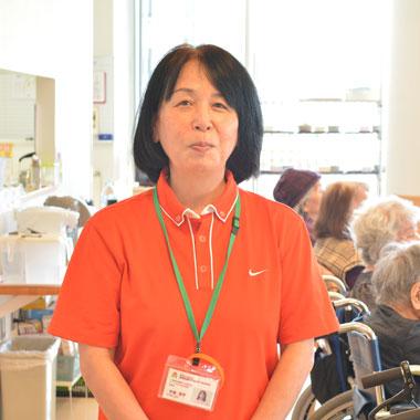 グループホームたんぽぽ 管理者 宮里 洋子