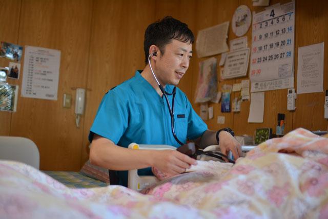 9:00  訪問看護サービス提供