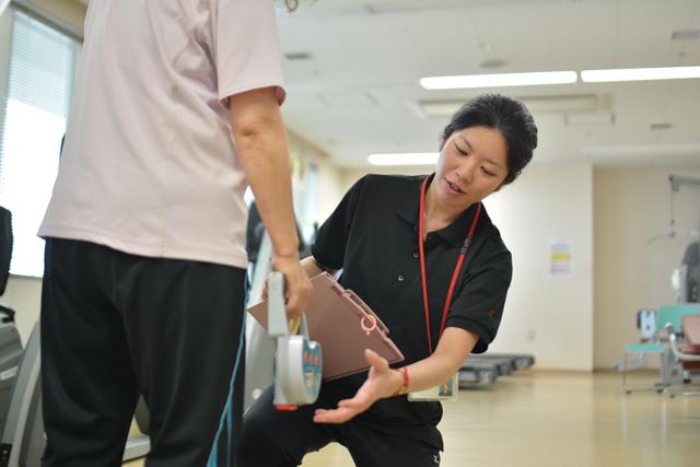 15:00 維持期心臓リハビリ(体力測定)